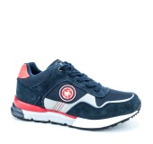 POLO 230-19525-19 NAVY/RED